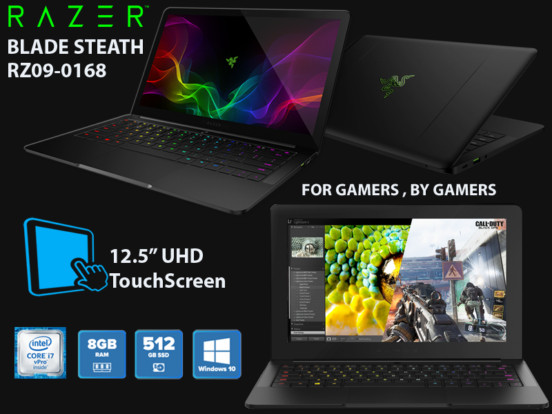 Razer Blade Steath RZ09-0168 TouchScreen
